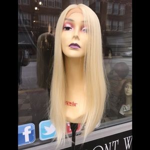 Accessories - Blonde Lacefront wig human hair Blende Blonde 613